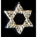 Silver Star of David 1098RNR