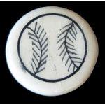 Ceramic Bead: Baseball 1144BSB