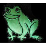 Jewish Applique: Passover Frog Iron On 17A5561