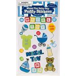 Puffy Stickers: Mazel Tov Baby Boy 1807MTB