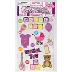 Puffy Stickers: Mazel Tov Baby Girl 1807MTG