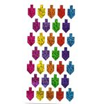 Stickers: Colorful Prismatic Dreidels 1812DR