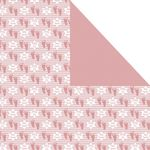 Scrapbook Paper: Girl Baby Naming, 25 sheets 1870BN25