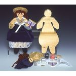 Jewish Craft Kit: Doll - Girl, Hanukkah 7026