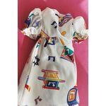 "Hanukkah Doll Dress, White - for an 18"" doll 8482W"
