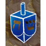 Jewish Embellishment: Dreidels, set of 2 9035