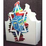 Hanukkah Dreidel Centerpiece Box DR831