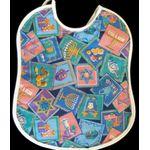 Chanukah Baby Bib:  Multicolored Hanukkah Bib RH753