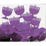 Chanukah Menorah Confetti - Purple 1062