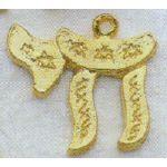 Charm: Chai, gold 1091G