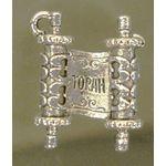 Charm: Open Torah, Silver 1106S