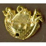 Charm: Noah's Ark, gold 1328G
