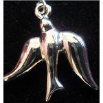Dove Charm: Sterling Silver Dove 1367