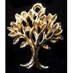 Charm: Tree of Life With Leaves, gold 1374G