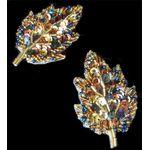Jewish Applique: Small Sukkot Autumn Leaves, Sew On 171022S