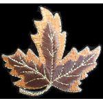 Jewish Applique: Sukkot Maple Leaf, Iron On 17A7298C