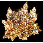 Jewish Applique: Maple Leaf, Sew On 17SM397S