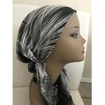 Prettied bandana, chemotherapy hat, Tichel 288365045