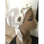 Tichel, hair covering, floral bandana 460189174