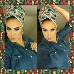 Beautiful flower head scarves 498821286