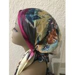 Pre tied tichel, women warp, Jewish head cover 619130777