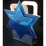 Star of David Party Favor Box, small DR820Mini