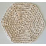 Crocheted Wedding Kippah, Ivory JW0101IV