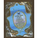 Jewish Gift Item: New Baby Boy Blessing from Israel MJ610