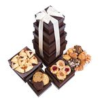 Grand Indulgence 4 Tier Fresh Baked Goods Gift Tower BB014