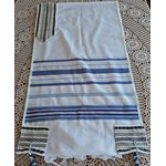 Jewish Wedding, High Holidays, Wool Tallit, Jewish Prayer Shawl, Cotton Tallit, Tallit Set, Tallit For Man, Tallis, White Prayer Shawl 631264768