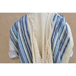 Prayer Shawl, Jewish Wedding, High Holidays, Jewish Prayer Shawl, Cotton Tallit, Tallit Set, Tallit For Man, Tallis, Blue Prayer Shawl 663007525