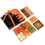 Nouveau Design Signature 4 Tier Dried Fruit and Nut Gift Tower GT006