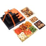 Nouveau Design Lasting Impression 4 Tier Dried Fruit and Nut Gift Tower GT008
