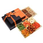Nouveau Design Signature 2 Tier Dried Fruit and Nut Gift Tower GT004