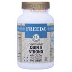 Freeda Vitamins - Quin B Strong - Kosher B Complex With Vitamin C & Zinc - 100 Tablets FV-4005-01