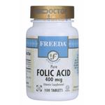 Freeda Vitamins - Folic Acid 400 mcg - 500 Tablets FV-4147-02