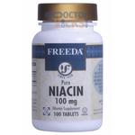 Freeda Vitamins - Niacin (B3) 100 mg - 100 Tablets FV-4152-01