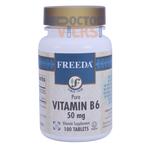 Freeda Vitamins - Vitamin B6 (Pyridoxine) 50 mg - 250 Tablets FV-4171-02