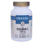 Freeda Vitamins - Vitamin C 1000 mg - 500 Tablets FV-4184-03