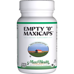 "Maxi Health - Empty ""0"" MaxiCaps - Large Kosher Empty Vegetarian Capsules - 1000 Capsules MH-3135-02"