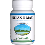 Maxi Health - Relax to the Max - Kosher Stress Reliever - 120 Capsules MH-3154-02