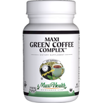 Maxi Health - Maxi Green Coffee Complex - Kosher Weight Management Formula - 90 Capsules MH-3161-02
