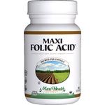 Maxi Health - Maxi Folic Acid 800 mcg - 90 Capsules MH-3170-01