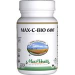 Maxi Health - Max-C-Bio 600 mg - Kosher Vitamin C & Bioflavonoids - 180 Tablets MH-3181-02
