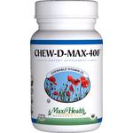 Maxi Health - Chew-D-Max - Vitamin D3 400 IU - Berry Flavor - 100 Chewables MH-3191-01