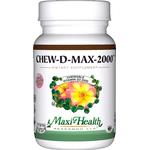Maxi Health - Chew-D-Max - Vitamin D3 2000 IU - Bubble Gum Flavor - 200 Chewables MH-3193-02