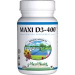 Maxi Health - Maxi Vitamin D3 400 IU - 90 Tablets MH-3195-01