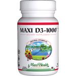 Maxi Health - Maxi Vitamin D3 1000 IU - 180 Tablets MH-3196-02