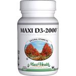 Maxi Health - Maxi Vitamin D3 2000 IU - 180 Tablets MH-3197-02