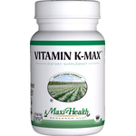 Maxi Health - Vitamin K-Max 100 mcg - 60 Capsules MH-3203-01